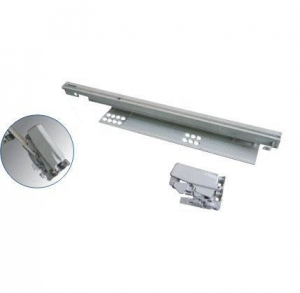 China Drawer runner concealed undermounted drawer runner on sale