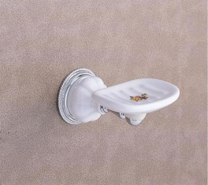 China CLASSICAL LUXURY BATHROOM FAUCET SERIES WALL MOUNT SOAP DISH on sale