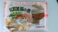 China Boiled Foods matsutake kamameshi boiled vegetable on sale