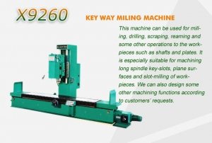 China KEY WAY MILING MACHINE on sale