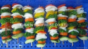 China IQF mixed vegetables,Frozen mixed vegetables on sale