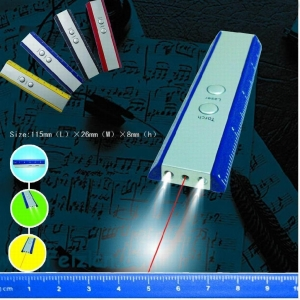 China Tools & Lights 3 IN 1 Ruler / Laser pointer & LED torch Model No.6014 on sale