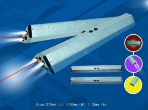 China Tools & Lights 3 IN 1 Ruler / Laser pointer & LED torch Model No.6013 on sale
