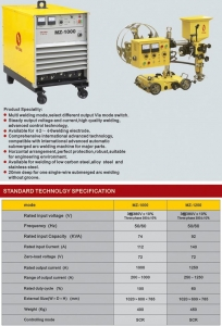 China BX1 AC Welding Mac... MZ Sillicon Contro... MZ Sillicon Controlled Automatic Submerged Arc welding Machine on sale