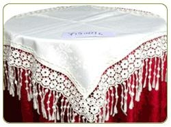 China Helical Satin Table Cloth Table Cloth on sale