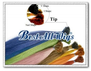 China Hair Extension Pre-bonded / Keratin Hair Extension on sale