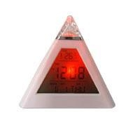 China Clock GSC36 Color Changing Pyramid Multifunction Clock ( GSC36 ) on sale