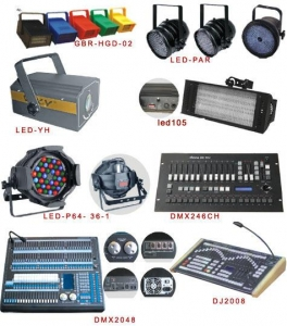 China Professional Light Professional Light>>Professional Light>>GBR-HGD-02/LED-PAR/LED-YH/Ied105/LED-P64-36-1/DMX246CH/DMX2048/DJ2008 on sale