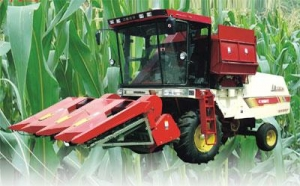 China Xinjiang 4... commodity name:Xinjiang 4YZ-3B Self-propelled Corn Combine Harvester on sale
