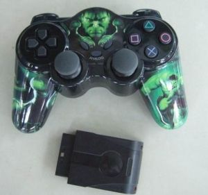China Game Pad |PC Accessaries>>Game Pad>>WirelessGamePad(2.4GHZ)forPS2 >> Wireless Game Pad for PS2 on sale