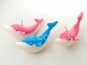 China Sponge Craft dolphin sponge(C013-C014) on sale