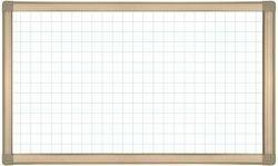 China Whiteboards Aluminum Frame Whiteboard With Grey Hatchings on sale
