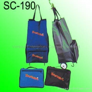 China Foldable Shopping Cart and Bag on sale