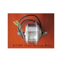 China DC Hub Motor Q-F-07CFront-Driving on sale