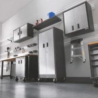 PVC Slat Wall Finished-Cabinet Size:2440*300*17