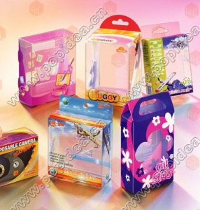 China Printing Products pp,pvc,pet box on sale