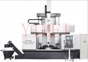 China VTL + C AXIS + ATC CXK series CNC vertical turning and milling center 1.CXK series CNC vertical turning and milling center was researched and developed independently by our company. It is multi-functional , high-precision, and high-efficiency compounded on sale
