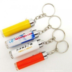 China Promotional Plastic LED Projector Keychain on sale