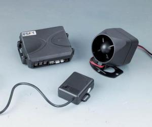 China Upgrade car alarm system Model No:LFQ-018C on sale