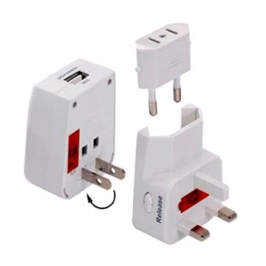 China Travel Adapters Universal Travel Adaptor (with USB port) on sale