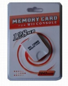 China Spare Parts 128MB Wii Memory Card (OEM) on sale