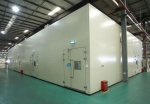 Commercial Air Conditioner Performance Testing Lab