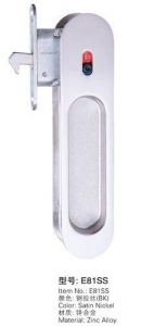 China Sliding Door Lock Series Item No.:E81SS BK on sale