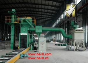 China H Beam Production Line HP8016-8 H-Beam Shot-Blasting Machine on sale