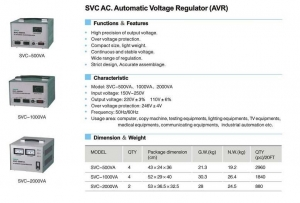 China Power Supply SVC AC.Automatic Voltage Regulator(AVR) on sale