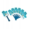 China Fans Series Quality six plastic folding fans XD-131 for sale