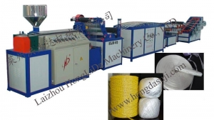China Plastic Rope Production Li.. PP Twine Making Machine on sale
