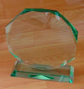 China Glass Trophy :KG00001 on sale