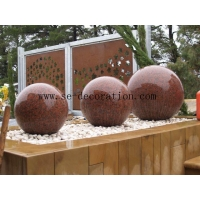 China Lantern Product Namesouth africa red granite balls on sale