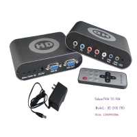 China (HD BOX PRO)YPbPr to VGA converter Product name::YPbPr to VGA converter on sale