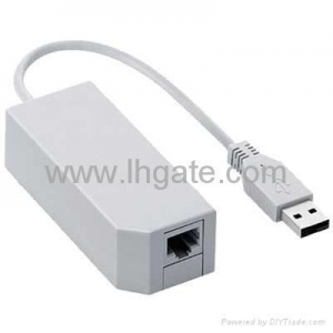 China Wii accessories LAN Internet Network Connection Adapter for Wii on sale