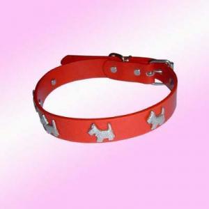 China Pu Dog Collars (18)  Personalised Pet Collar - PC-03 on sale