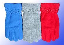China fleece glove on sale