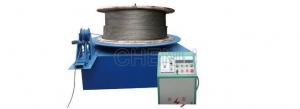 China WIRE ROPE SETTING FREE AND WRAPPING MACHINE on sale