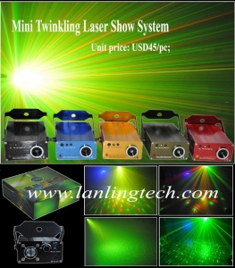 China Mini Twinkling Laser stage lighting on sale