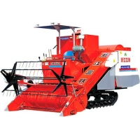 Combine Harvester 4LZ-2.0 self-propelled full-feeding combine harvesters with rubber tracks