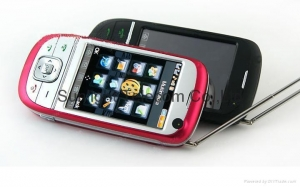China Quad-band Sliding Dual sim TV phone JC608S 5 pc on sale