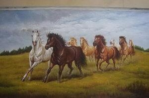 China Animal Oil Painting  No.:1620027 on sale
