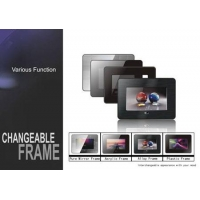 Digital Photo Frame Model: LADS-M070B11 - frame can be changeableAnalog panel 16:9