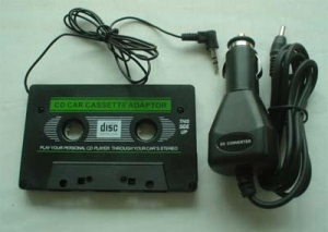 China Model No: Cassette and Car adaptor on sale