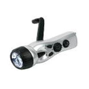 China The owl hand (FM) charging FM flashlight on sale