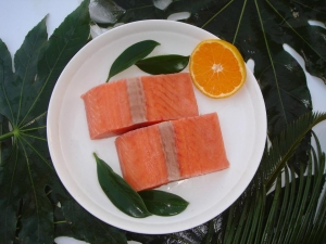 China Chum Salmon Products chum salmon portion wholesale