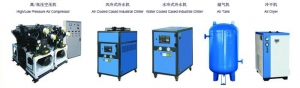 China Air Compressor   Water Chiller   Air Tank   Air Dryer on sale