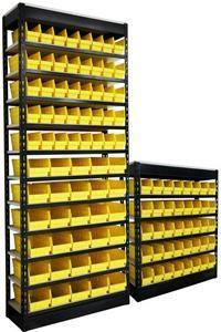 China plastic bin shelves on sale