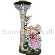 China solar light-colorful angel on sale