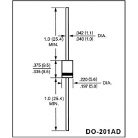 The fast-recovery commutating diode